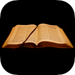 Bible Code cryptogram game icon.