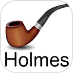 Holmes Cryptic Cipher cryptogram game icon.